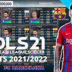 DLS 21 APK Mod Barcelona New Kits 2022 Download