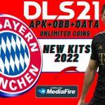 DLS 21 Mod APK Bayern Munich Kits 2022 Download