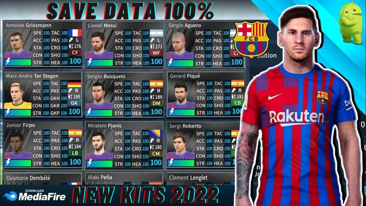 DLS 21 Barcelona profile.dat KITS 2022 Download