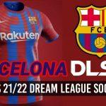 Barcelona New Kits 2022 DLS 21 FTS