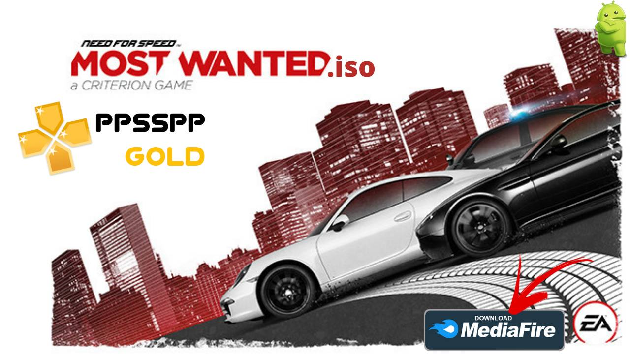 Need For Speed NFS Most Wanted PPSSPP Download