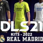 Real Mdrid Kits 2022 DLS 21 - Dream League Socce FTS