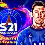 DLS 21 APK Messi on PSG Profile Data Download