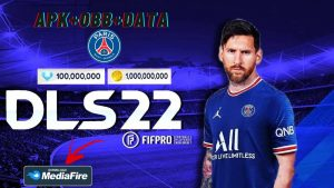 DLS 22 Mod APK Messi on PSG Kits 2022 Download