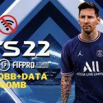 FTS 22 Mod APK Messi on PSG Unlocked Download