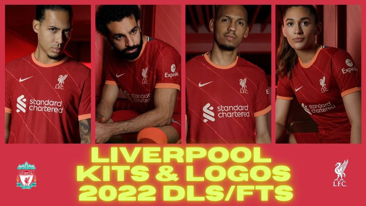 Liverpool Kits 2022 DLS - Dream League Soccer Kits & Logo