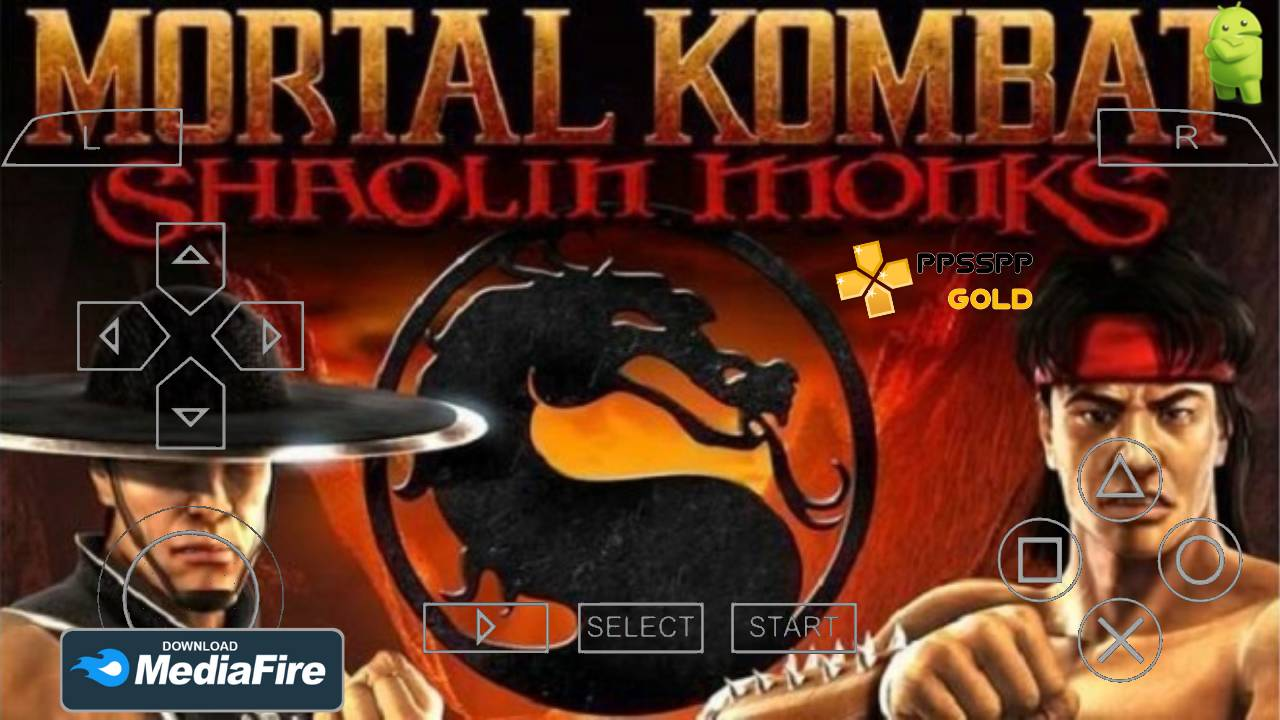 Mortal Kombat Shaolin Android ISO PPSSPP Download