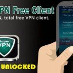 SuperVPN APK Mod Premium Unlocked Download