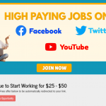 Get Paid $50 To Use Facebook, Twitter and YouTube