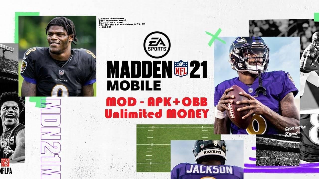 Madden NFL 21 APK Mod Unlocked Download