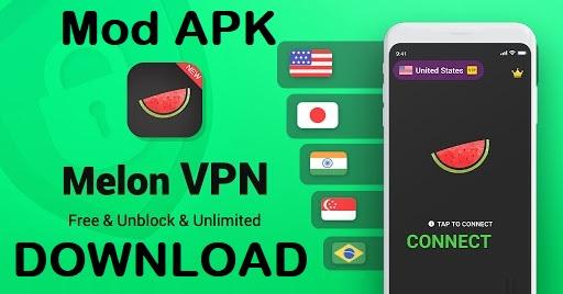 Melon VPN Mod Apk Unlocked Download