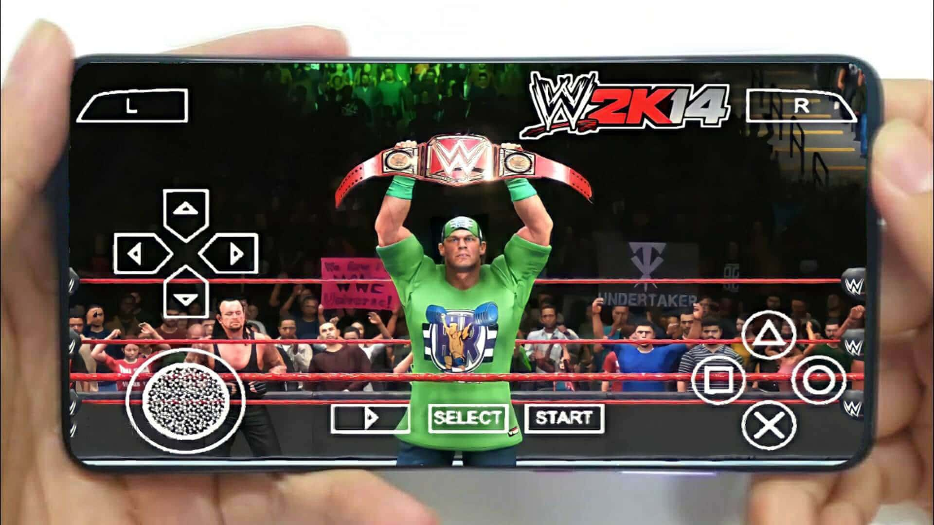 WWE 2K14 PPSSPP Mod 2021 Download for Android