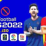 eFootball PES 2022 PPSSPP English Update Kits Transfers Download
